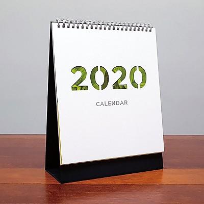 2020 탁상용 달력 세로형